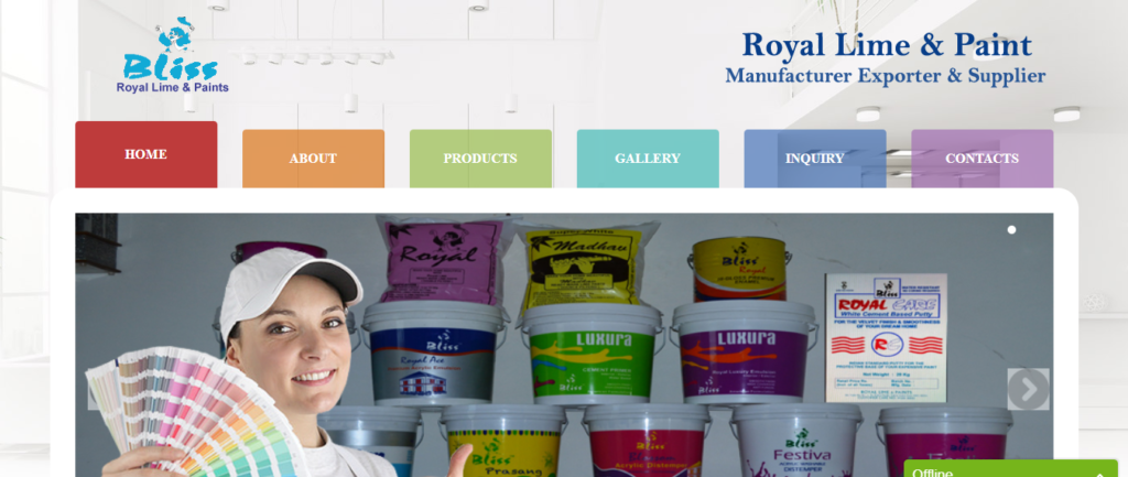 Royal Lime Paint